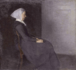 Art Prints of Frederikke Hammershoi by Vilhelm Hammershoi