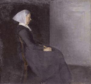 Art Prints of Frederikke Hammershoi by Vilhelm Hammershoi