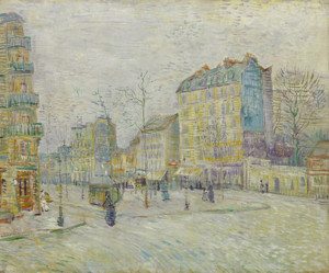 Art Prints of Boulevard de Clichy by Vincent Van Gogh