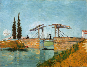 Art Prints of Bridge at Langlois, 1888 by Vincent Van Gogh
