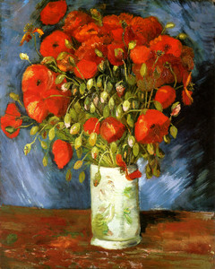 Art Prints of Poppies, 1886 by Vincent Van Gogh