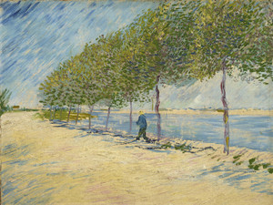 Art Prints of Along the Seine by Vincent Van Gogh