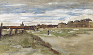 Art Prints of Bleaching Ground at Scheveningen by Vincent Van Gogh
