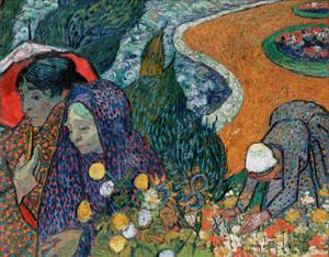 Art Prints of Memory of the Garden at Etten, Ladies of Arles by Vincent Van Gogh