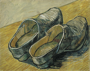 Art Prints of Pair of Clogs by Vincent Van Gogh