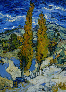Art Prints of Poplars at Saint Remy by Vincent Van Gogh
