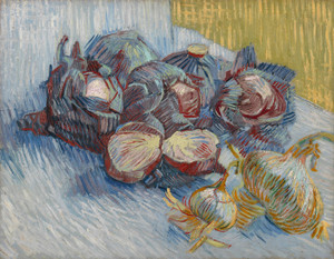 Art Prints of Red Cabbages and Onions by Vincent Van Gogh