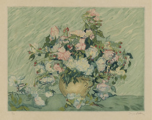 Art Prints of Roses IV by Vincent Van Gogh