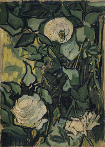 Art Prints of Roses II by Vincent Van Gogh