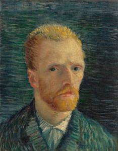 Art Prints of Self Portrait VII, 1887 by Vincent Van Gogh