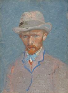 Art Prints of Self Portrait VIII, 1887 by Vincent Van Gogh