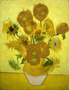 Art Prints of Sunflowers by Vincent Van Gogh