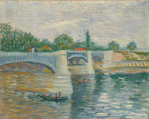 Art Prints of The Bridge at Courbevoie by Vincent Van Gogh