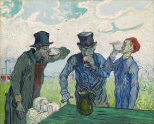 Art Prints of The Drinkers by Vincent Van Gogh