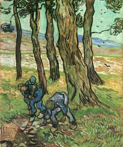 Art Prints of The Diggers by Vincent Van Gogh