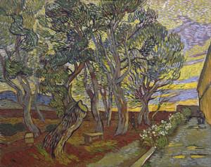 Art Prints of The Garden of Saint Paul's Hospital II by Vincent Van Gogh