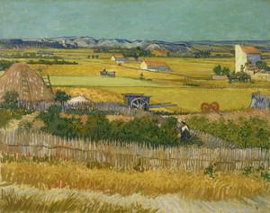 Art Prints of The Harvest by Vincent Van Gogh