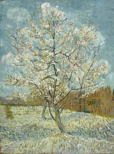 Art Prints of The Pink Peach Tree by Vincent Van Gogh