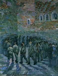Art Prints of The Prison Courtyard by Vincent Van Gogh