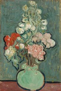 Art Prints of Vase of Flowers, 1890 by Vincent Van Gogh