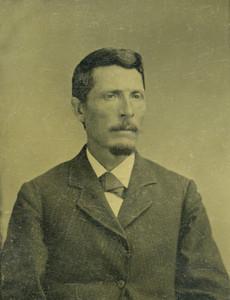 Art Prints of A Gentleman, Tintype 4, Vintage Tintype