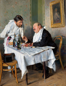 Art Prints of In the Tavern by Vladimir Egorovich Makovsky