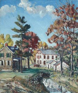 Art Prints of The Miller's House by Walter Baum