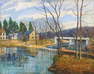Art Prints of Pennsylvania Mill by Walter Baum