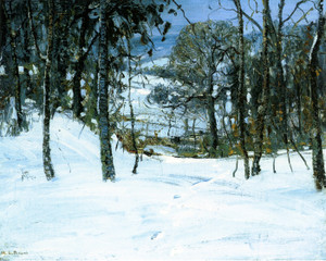 Art Prints of The Edge of the Woods by Walter Baum