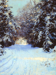 Art Prints of Snow Laden Trees, 1887 by Walter Launt Palmer
