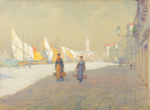 Art Prints of Venetian Scene by Walter Launt Palmer