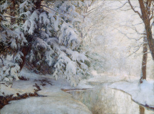 Art Prints of Silent Dawn by Walter Launt Palmer