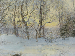 Art Prints of Snow Covered Landscape by Walter Launt Palmer
