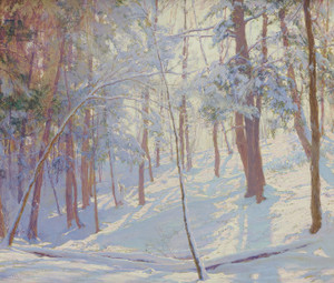 Art Prints of Winter Woods by Walter Launt Palmer