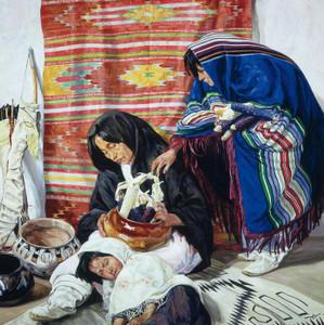 Art Prints of Sleep by Walter Ufer