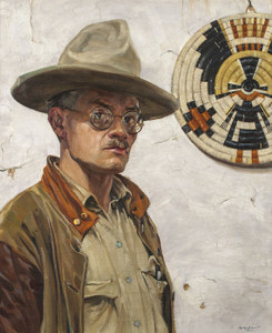 Art Prints of Self Portrait by Walter Ufer