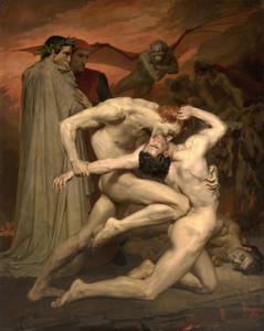 Art Prints of Dante and Virgile by William Bouguereau