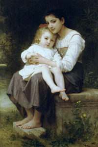 Art Prints of Big Sis by William Bouguereau