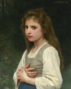 Art Prints of Jeanne by William Bouguereau