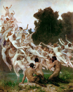 Art Prints of Les Oreades by William Bouguereau