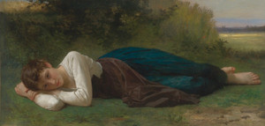 Art Prints of Resting by William Bouguereau