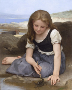 Art Prints of The Crab by William Bouguereau