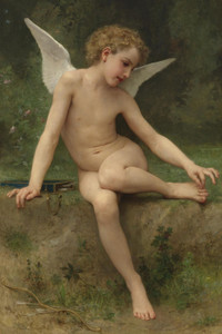 Art Prints of Love the Thorn by William Bouguereau