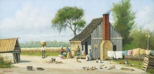 Art Prints of Bringing Home the Cotton by William Aiken Walker