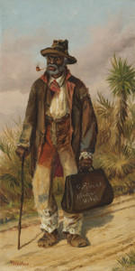 Art Prints of Man Walking by William Aiken Walker
