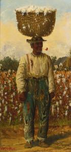 Art Prints of Man with Basket by William Aiken Walker