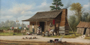 Art Prints of The Cotton Pickers Family by William Aiken Walker