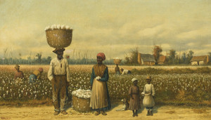 Art Prints of Untitled, Picking Cotton by William Aiken Walker