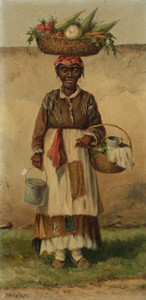 Art Prints of Standing Woman by William Aiken Walker