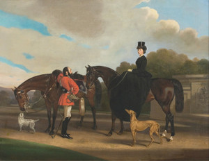 Art Prints of Lord and Lady Twemlow by William Barraud